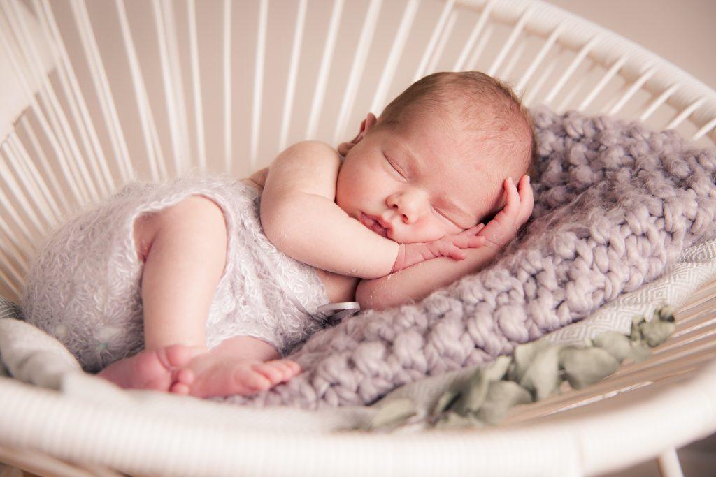 Newborn Foto Retro